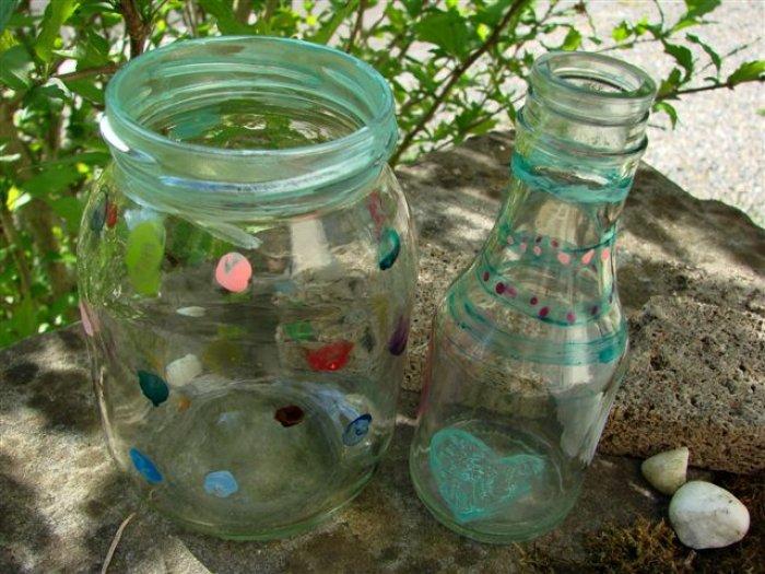 glas bemalen mit kindern beautiful tolle ideen wie sie glas bemalen with glas bemalen mit. Black Bedroom Furniture Sets. Home Design Ideas